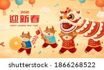 chinese new year greeting... | Shutterstock .eps vector #1866268522