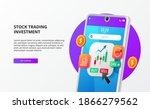 modern app stock securities...