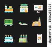 global data sharing data...   Shutterstock .eps vector #1866285925