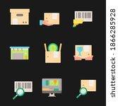 global data sharing data...   Shutterstock .eps vector #1866285928