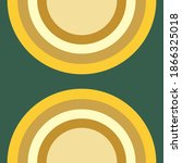 An abstract half circle shape background image.