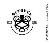 Vintage Nautical Octopus Kraken ...