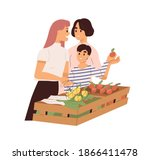 cute homosexual couple with...   Shutterstock .eps vector #1866411478