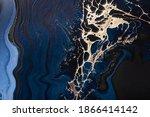 Acrylic Fluid Art. Liquid Gold...