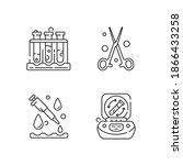 laboratory instruments linear...   Shutterstock .eps vector #1866433258