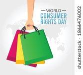 world consumer rights day...   Shutterstock .eps vector #1866476002