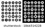 daisy camomile set. chamomile...   Shutterstock .eps vector #1866514228