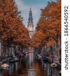 Canals In Amsterdam City  ...