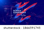 science conference concept.... | Shutterstock .eps vector #1866591745
