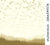 square pastel color...   Shutterstock .eps vector #1866599578