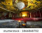 Abandoned Ballroom Stage In...