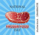 national frozen food day vector ... | Shutterstock .eps vector #1866886558