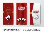 elegant luxury grand opening or ... | Shutterstock .eps vector #1866903832