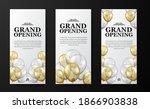 elegant luxury grand opening or ...   Shutterstock .eps vector #1866903838