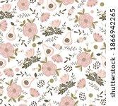 vector minimalistic pattern... | Shutterstock .eps vector #1866942265