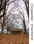 Small photo of old abandoned home in Crowley's Ridge Arkansas