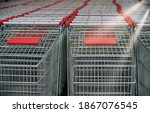 Many Shopping Carts In The...
