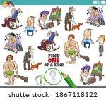 cartoon illustration of find... | Shutterstock .eps vector #1867118122