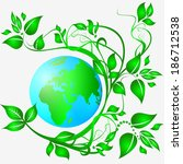 sign ecology | Shutterstock . vector #186712538
