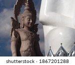 Thai Buddhist Statue At Wat...