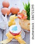 easter cupcake | Shutterstock . vector #186721295