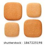 Gingerbread Cookies In Shape Of ...