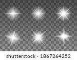 Realistic Realistic Glow Star...
