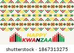 happy kwanzaa. is an annual...   Shutterstock .eps vector #1867313275