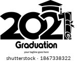 class 2021. simple black and...   Shutterstock .eps vector #1867338322