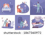 oncology diagnostic tests... | Shutterstock .eps vector #1867360972