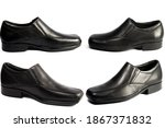black leather luxury classic... | Shutterstock . vector #1867371832