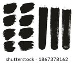 round brush thick short... | Shutterstock .eps vector #1867378162