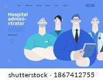 medical insurance illustration  ...   Shutterstock .eps vector #1867412755