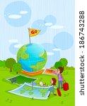 illustration of travel | Shutterstock . vector #186743288