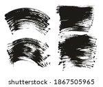 flat fan brush regular curved... | Shutterstock .eps vector #1867505965