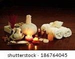 still life art photography on... | Shutterstock . vector #186764045