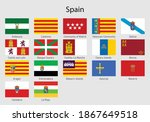 set flags of the communities of ...   Shutterstock .eps vector #1867649518