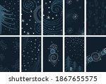winter social media stories... | Shutterstock .eps vector #1867655575