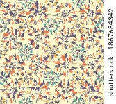 seamless abstract pattern with...   Shutterstock .eps vector #1867684342