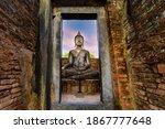 Wat Si Chum  Temple  In...