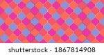 seamless moroccan mosaic design.... | Shutterstock .eps vector #1867814908