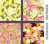 abstract elegance seamless... | Shutterstock .eps vector #186786836