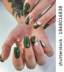 Long Square Nails With Swamp...