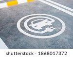 Ev Or Electric Car Charging...