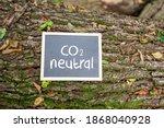 'co2 Neutral' Written On A...