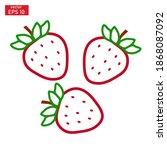 vector illustration of a... | Shutterstock .eps vector #1868087092