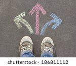 taking decisions | Shutterstock . vector #186811112