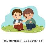 vector illustration cartoon of... | Shutterstock .eps vector #1868146465