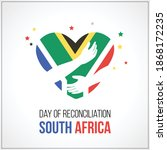 day of reconciliation south...   Shutterstock .eps vector #1868172235