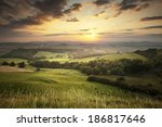 this is the view west from... | Shutterstock . vector #186817646